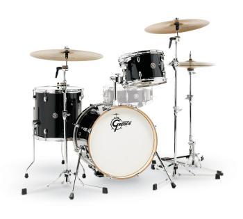 Gretsch Catalina Club 3 Piece Drum Set (18/12/14) (Piano Black) (HL-00776765)
