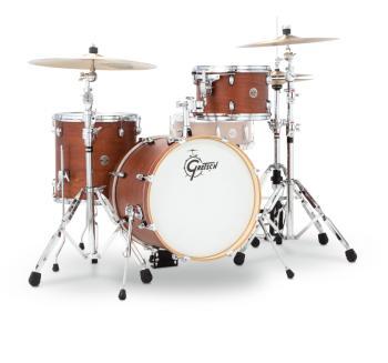 Gretsch Catalina Club 3 Piece Drum Set (18/12/14) (Satin Walnut Glaze) (HL-00776767)