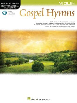 Gospel Hymns for Violin: Instrumental Play-Along (HL-00194655)
