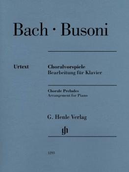 Chorale Preludes (Johann Sebastian Bach): Arrangement for Piano by Fer (HL-51481293)