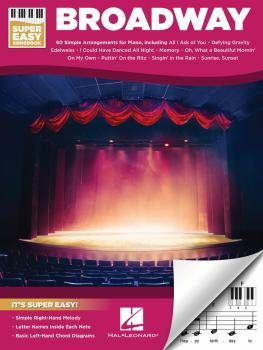 Broadway - Super Easy Songbook (HL-00193871)