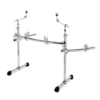 Chrome Series Power Rack System with Wings and Boom Arms (HL-00775270)