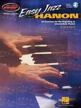 Easy Jazz Hanon: 50 Exercises for the Beginning to Intermediate Pianis (HL-00202430)