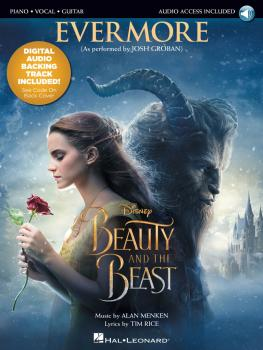 Evermore (from Beauty and the Beast): Digital Audio Backing Track Incl (HL-00236102)