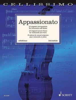 Appassionato: 25 Original Concert Pieces for Cello and Piano (HL-49045518)
