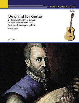 Dowland for Guitar: 24 Transcriptions for Guitar (HL-49045500)