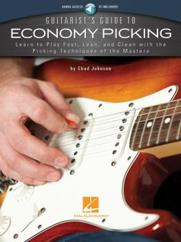 Guitarist's Guide to Economy Picking: Learn to Play Fast, Lean and Cle (HL-00183056)