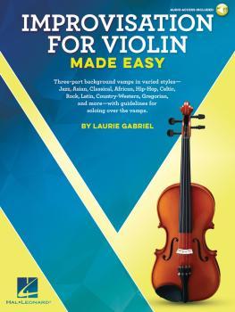 Improvisation for Violin Made Easy (HL-00236557)