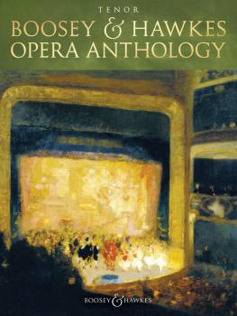 Boosey & Hawkes Opera Anthology - Tenor (HL-48023842)