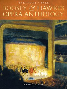 Boosey & Hawkes Opera Anthology - Baritone/Bass (HL-48023843)