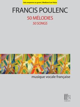 50 Mélodies (50 Songs) (for Medium/Low Voice and Piano) (HL-50601036)