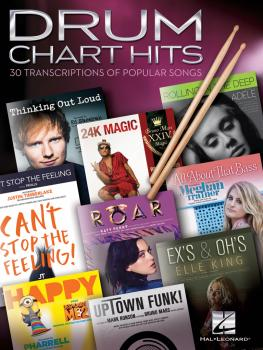 Drum Chart Hits: 30 Transcriptions of Popular Songs (HL-00234062)