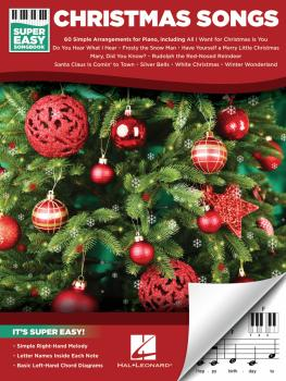 Christmas Songs - Super Easy Songbook (HL-00236850)