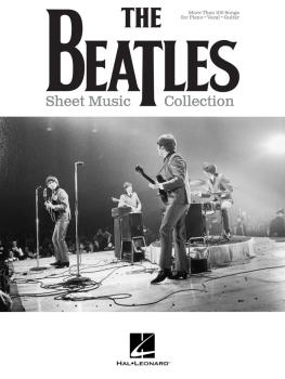 The Beatles Sheet Music Collection (HL-00236171)