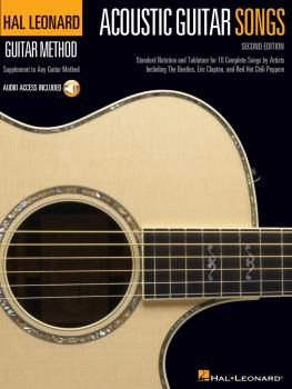 Acoustic Guitar Songs - 2nd Edition: Supplement to Any Guitar Method (HL-00237969)