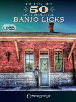 Todd Taylor's 50 Most Requested Banjo Licks (HL-00245087)