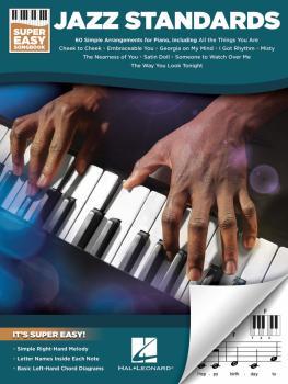 Jazz Standards - Super Easy Songbook (HL-00233687)