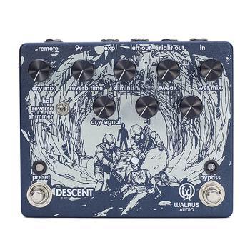 Descent Reverb/Octave Machine (Guitar Pedal) (HL-00251350)
