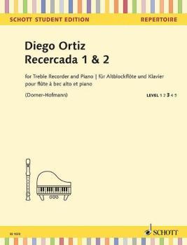 Recercada 1 & 2 (for Treble Recorder and Piano - Schott Student Editio (HL-49045571)