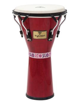 12 Supremo Series Djembe (Red Finish) (HL-00158659)