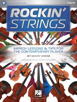 Rockin' Strings: Violin: Improv Lessons & Tips for the Contemporary Pl (HL-00192245)