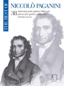 The Best of Niccolò Paganini: 38 Pieces for Guitar (HL-50565865)