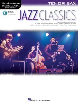Jazz Classics: Instrumental Play-Along for Tenor Sax (HL-00151815)