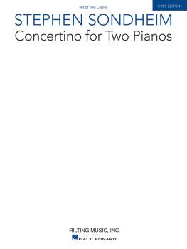 Concertino for Two Pianos (Set of Two Copies) (HL-00241671)