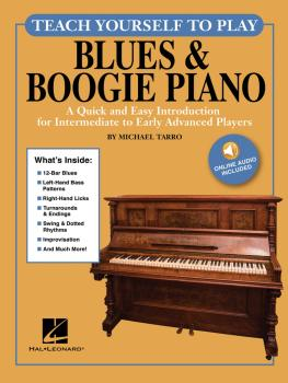 Teach Yourself to Play Blues & Boogie Piano: A Quick and Easy Introduc (HL-00248990)