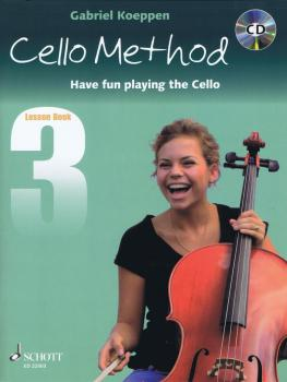 Cello Method - Lesson Book 3: Have Fun Playing the Cello (HL-49045669)
