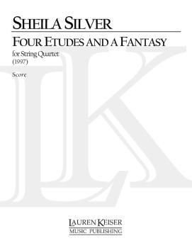 4 Etudes and a Fantasy (String Quartet No. 2) (HL-00040460)