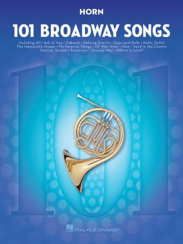 101 Broadway Songs for Horn (HL-00154204)