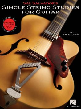 Sal Salvador's Single String Studies for Guitar: Bestselling Classic B (HL-00155951)