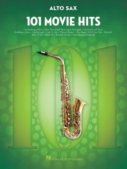 101 Movie Hits for Alto Sax (HL-00158089)