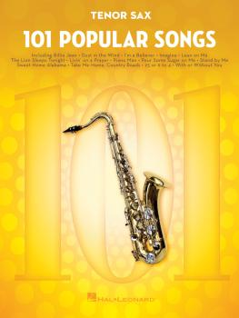 101 Popular Songs (for Tenor Sax) (HL-00224725)