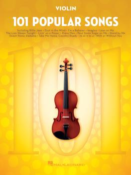 101 Popular Songs (for Violin) (HL-00224729)