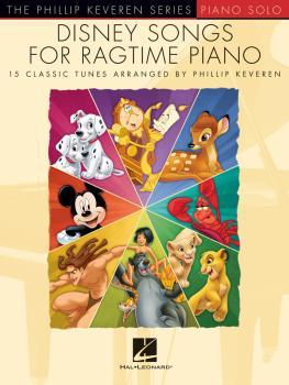Disney Songs for Ragtime Piano: The Phillip Keveren Series (HL-00241379)