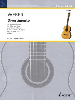 Divertimento Op. 38, WeV P. 13 (Guitar and Piano) (HL-49044713)