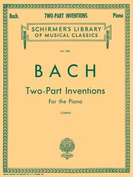 15 Two-Part Inventions (Czerny) Schirmer Library of Classics Volume 85 (HL-50256680)