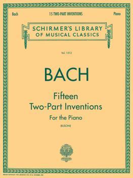15 Two-Part Inventions (Busoni): Piano Solo, arr. Busoni (HL-50259790)