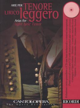 Cantolopera - Arias for Light Lyric Tenor with Piano (Book/CD) (HL-50495995)