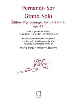Grand Solo: Edition Pierre Porro (1811-12), Op. 14 (HL-50565837)