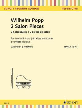 2 Salon Pieces (for Flute and Piano - Schott Student Edition Level 3) (HL-49045548)