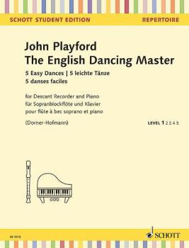 The English Dancing Master - 5 Easy Dances for Descant Recorder (for D (HL-49045581)