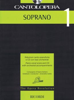 Cantolopera: Soprano 1: Piano-Vocal Score and CD with Orchestral Accom (HL-50600947)