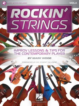 Rockin' Strings: Viola: Improv Lessons & Tips for the Contemporary Pla (HL-00233631)