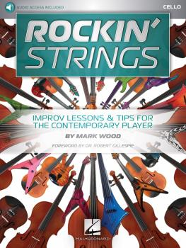 Rockin' Strings: Cello: Improv Lessons & Tips for the Contemporary Pla (HL-00233632)