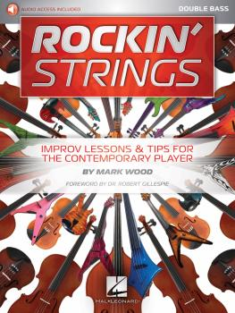 Rockin' Strings: Double Bass: Improv Lessons & Tips for the Contempora (HL-00233634)