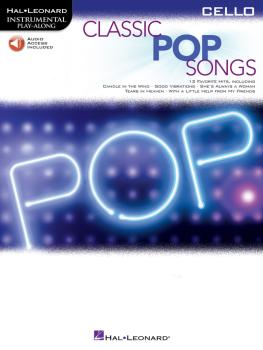 Classic Pop Songs (Cello) (HL-00244251)