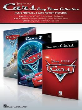 Cars - Easy Piano Collection: Music from All 3 Disney Pixar Motion Pic (HL-00248749)